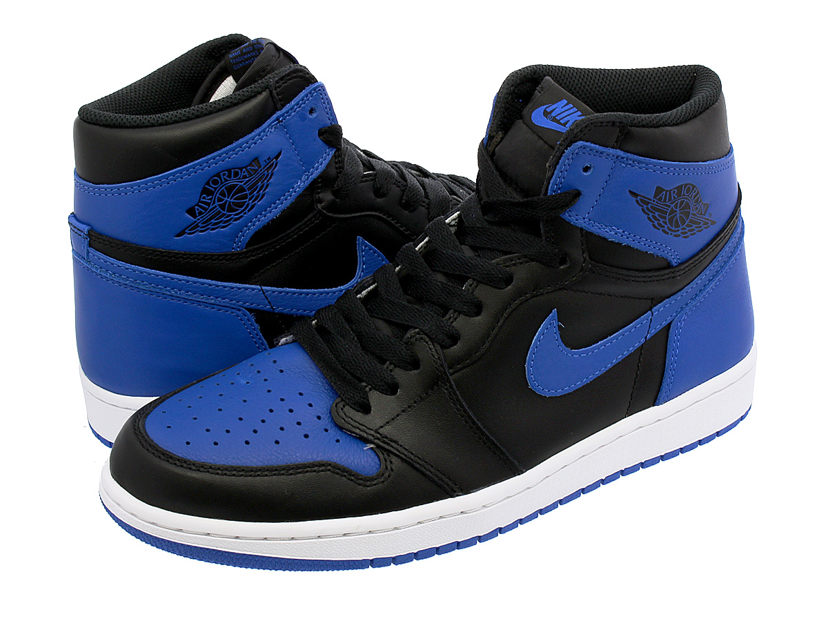 NIKE AIR JORDAN 1 RETRO HIGH OG 【ROYAL】 ナイキ エア ジョーダン 1 レトロ ハイ OG BLACK/VARSITY ROYAL/WHITE 555088-007