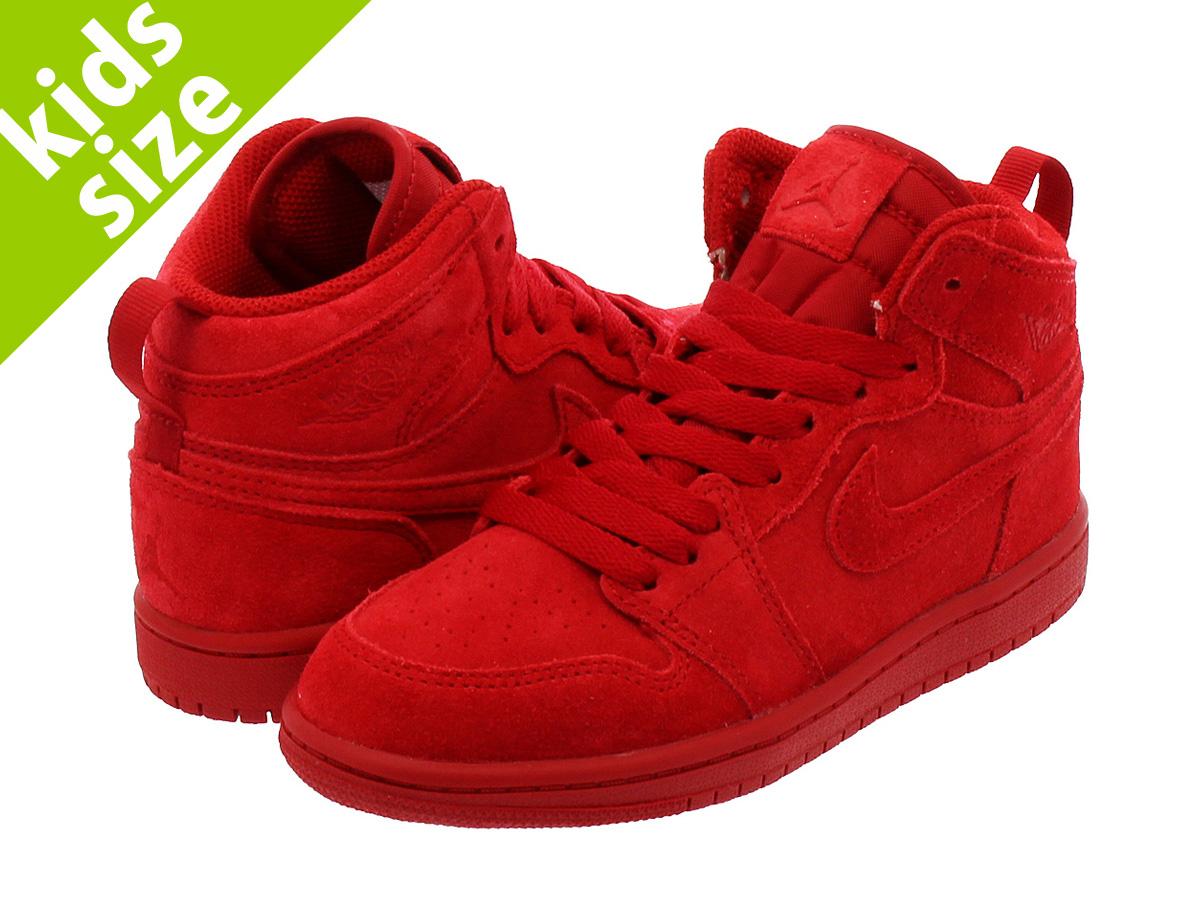 e01eed7cf63f09 NIKE AIR JORDAN 1 RETRO HI BP Nike Air Jordan nostalgic high BT GYM RED GYM  RED
