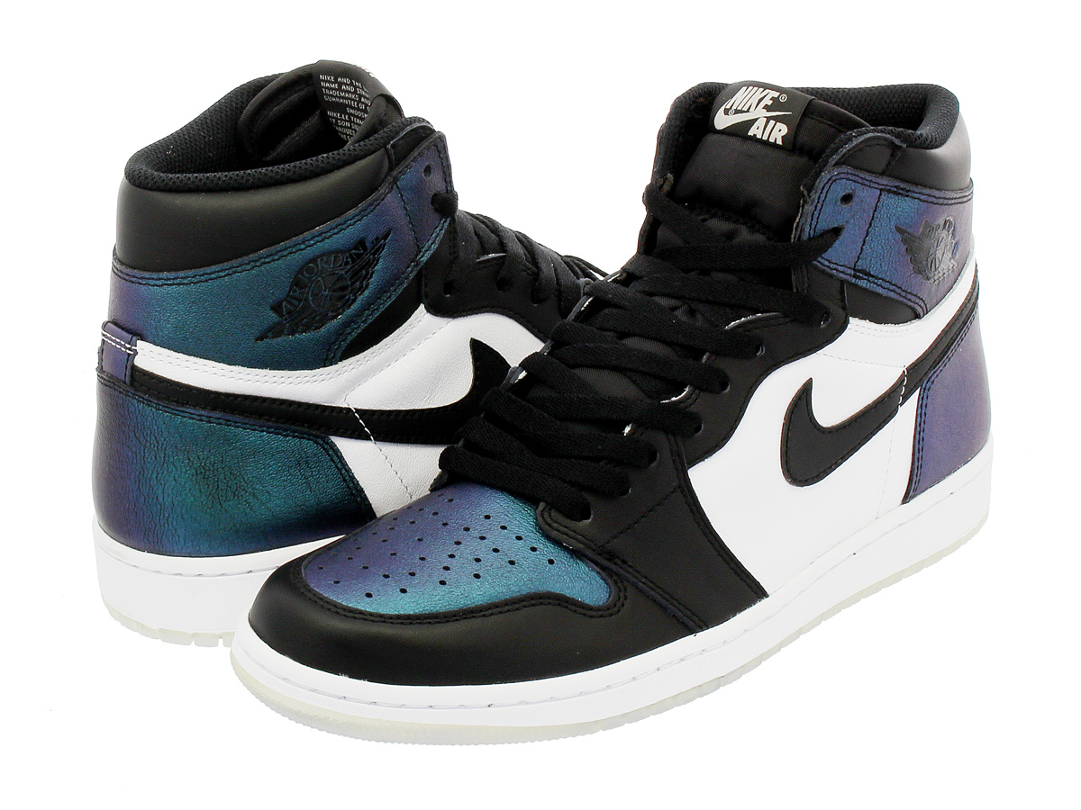 NIKE AIR JORDAN 1 RETRO HIGH OG AS 【GOTTA SHINE】 ナイキ エア ジョーダン 1 レトロ ハイ OG AS BLACK/METALLIC SILVER/WHITE 907958-015