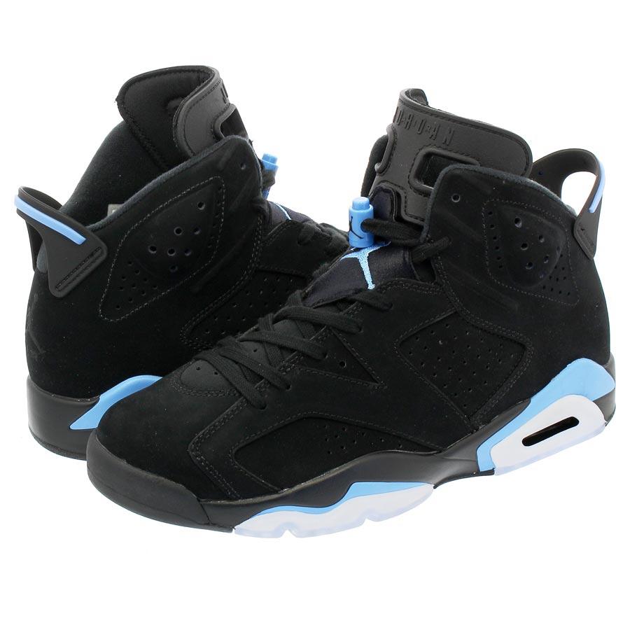 huge selection of fd5bc 131db NIKE AIR JORDAN 6 RETRO Nike Air Jordan 6 nostalgic BLACK/UNIVERSITY BLUE