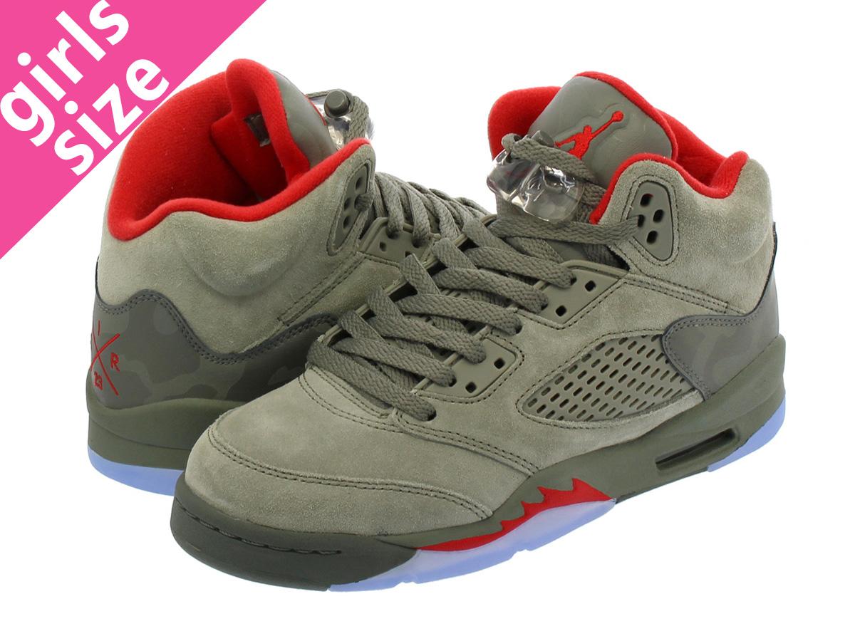 8156f664fcd7 ... NIKE AIR JORDAN 5 RETRO BG Nike Air Jordan 5 nostalgic BG REFLECTIVE  CAMO DARK STUCCO ...