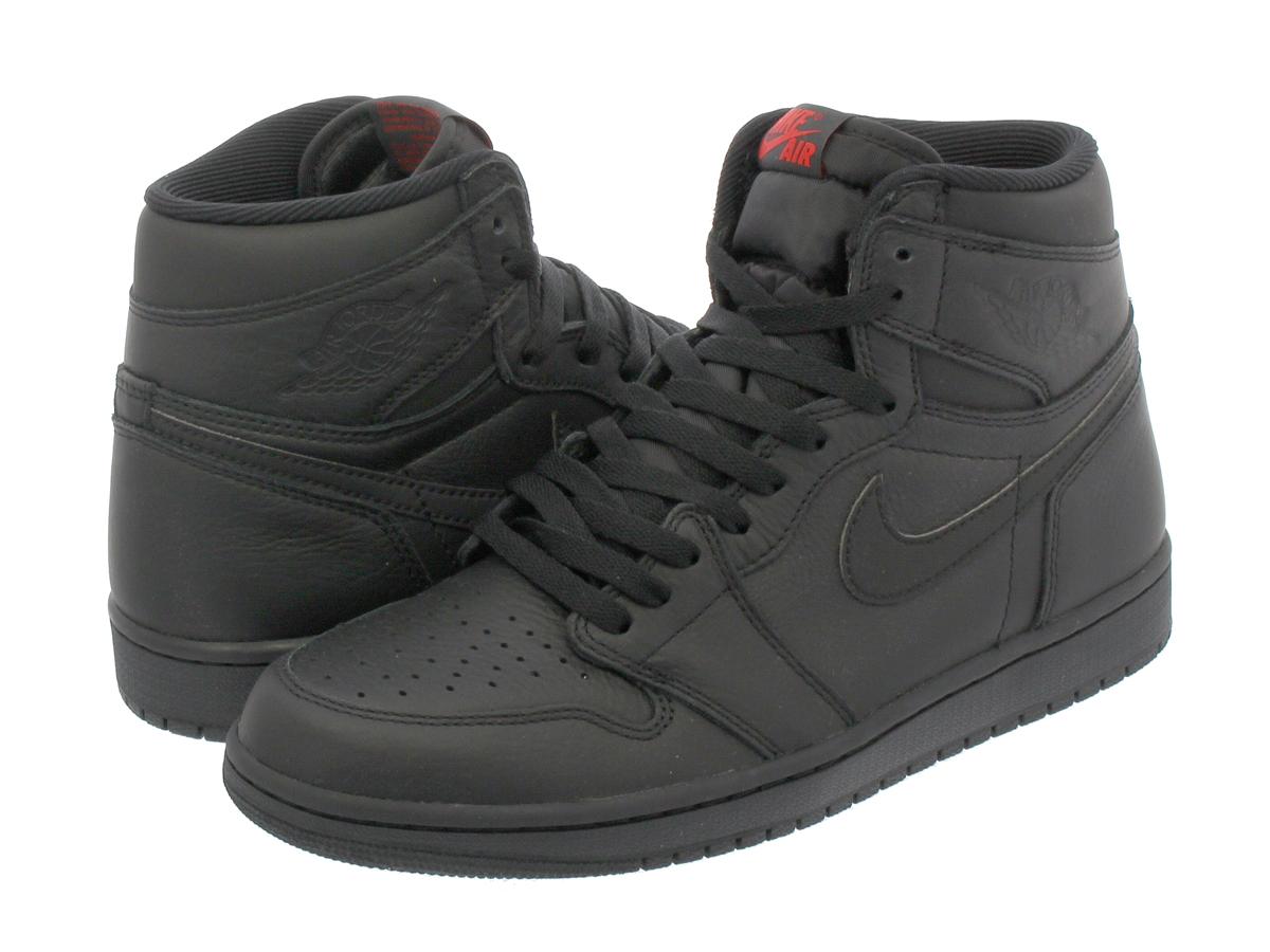 wholesale dealer 99169 43f92 NIKE AIR JORDAN 1 RETRO HIGH OG Nike Air Jordan 1 nostalgic high OG  BLACK UNIVERSITY RED 555,088-022