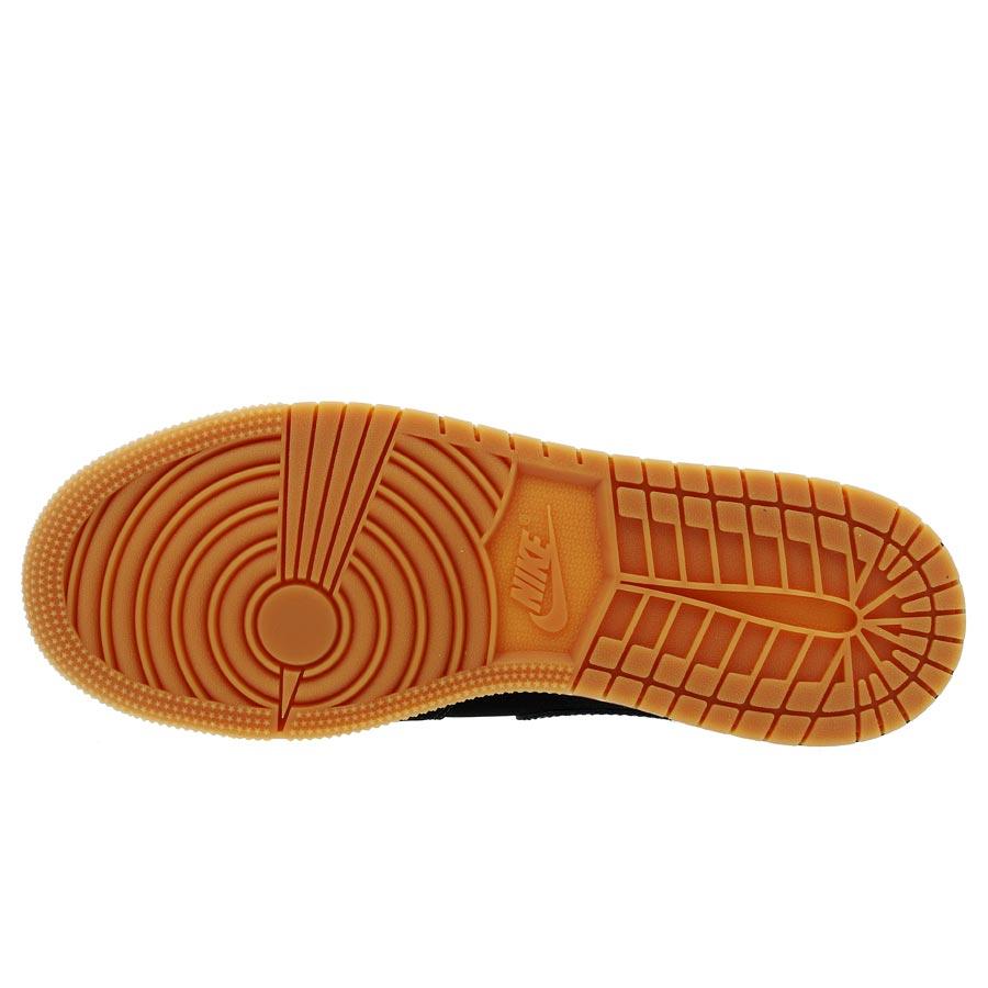 purchase cheap bdcd0 25466 ... NIKE AIR JORDAN 1 MID GS Nike Air Jordan 1 mid GS BLACK GOLD  ...