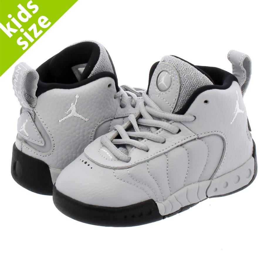 Professional player NIKE JORDAN JUMPMAN PRO TD Nike Air Jordan jump man TD  WOLF GREY/WHITE/BLACK