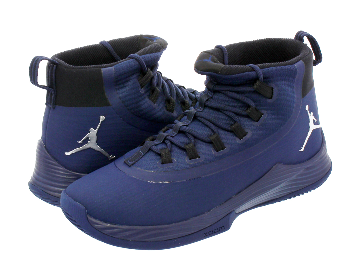 d62ddd53700bbd NIKE JORDAN ULTRA FLY 2 TB Nike Jordan ultra fly 2 TB MIDNIGHT NAVY BLACK METALLIC  SILVER 921