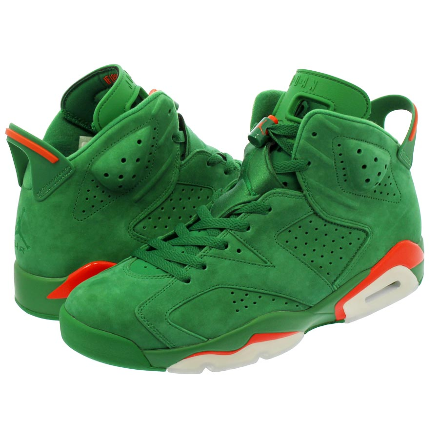 NIKE AIR JORDAN 6 RETRO 【GATORADE】 ナイキ エア ジョーダン 6 レトロ PINE GREEN/ORANGE BLAZE/PINE GREEN aj5986-335