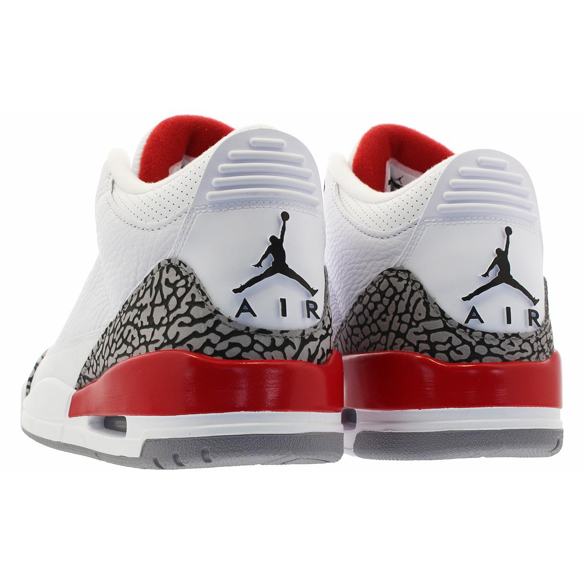 866d7b45ad6 ... NIKE AIR JORDAN 3 RETRO Nike Air Jordan 3 nostalgic WHITE/CEMENT GREY/ FIRE ...
