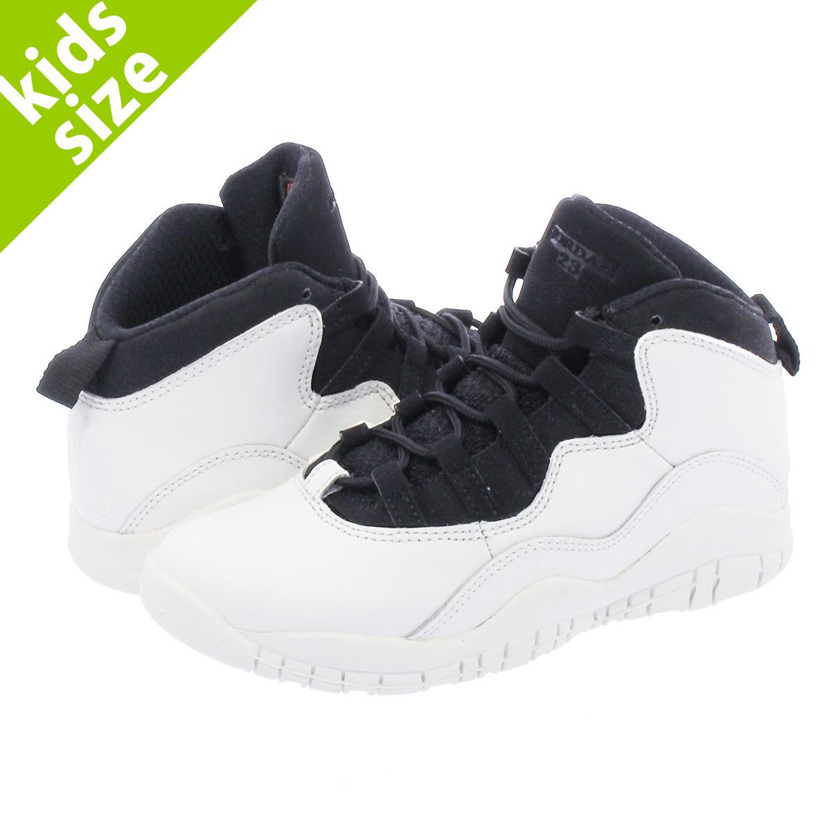 new arrival d26d7 57462 NIKE AIR JORDAN 10 RETRO BP Nike Air Jordan 10 nostalgic BP SUMMIT  WHITE/BLACK 310,807-104