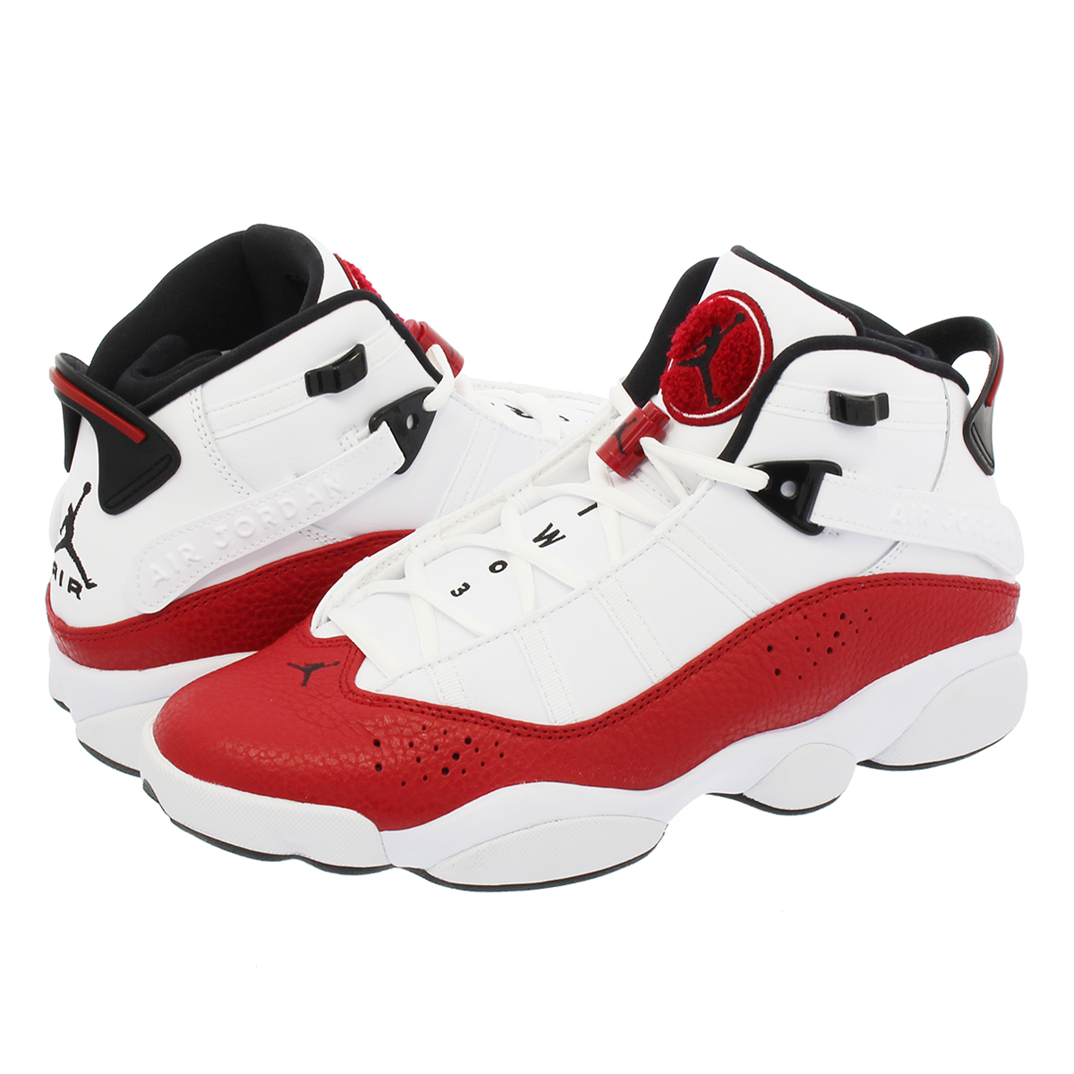 official photos 4a51e 2d7b9 NIKE AIR JORDAN 6 RINGS Nike Air Jordan 6 RINGS Co.,Ltd. WHITE/UNIVERSITY  RED/BLACK