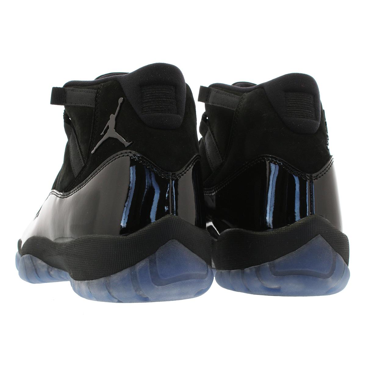 NIKE AIR JORDAN 11 RETRO Nike Air Jordan 11 nostalgic BLACK BLACK BLACK  378 b994e2d5f