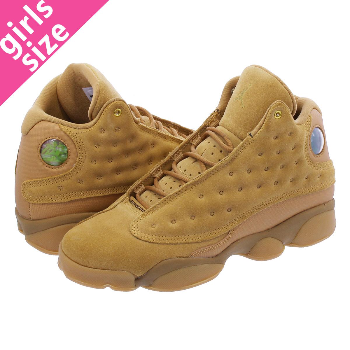 7da1928a426 NIKE AIR JORDAN 13 RETRO BG Nike Air Jordan 13 nostalgic BG ELEMENTAL  GOLD/BAROQUE ...