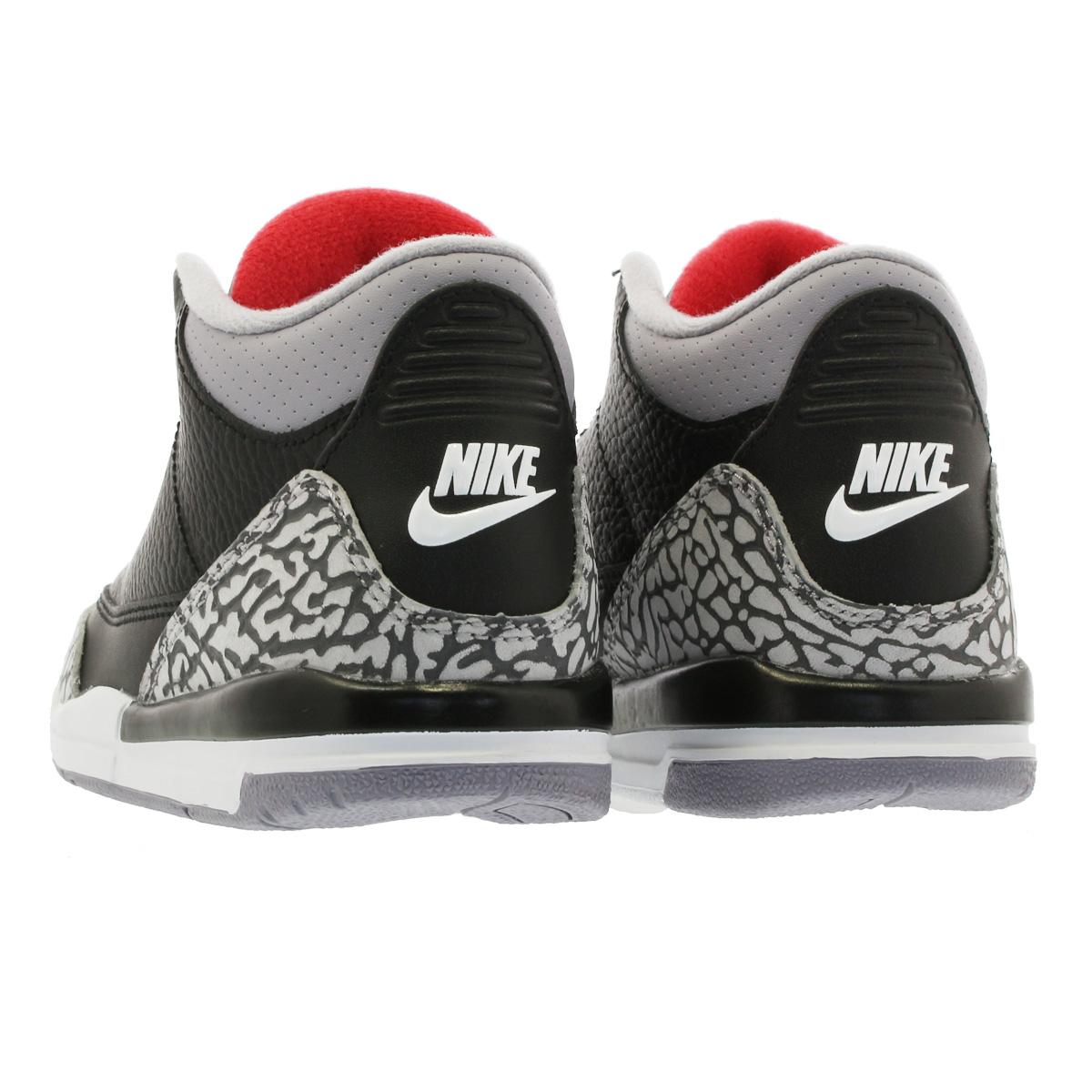377be83fdcd ... NIKE AIR JORDAN 3 RETRO BP Nike Air Jordan 3 nostalgic BP BLACK/FIRE RED  ...