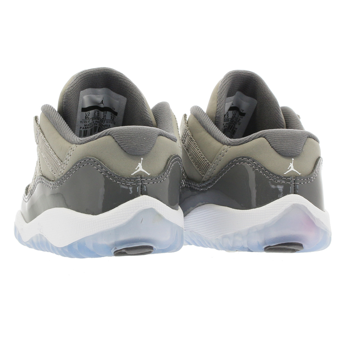 799e883d8c2 ... NIKE AIR JORDAN 11 RETRO LOW BT Nike Air Jordan 11 nostalgic low BT  MEDIUM GREY ...