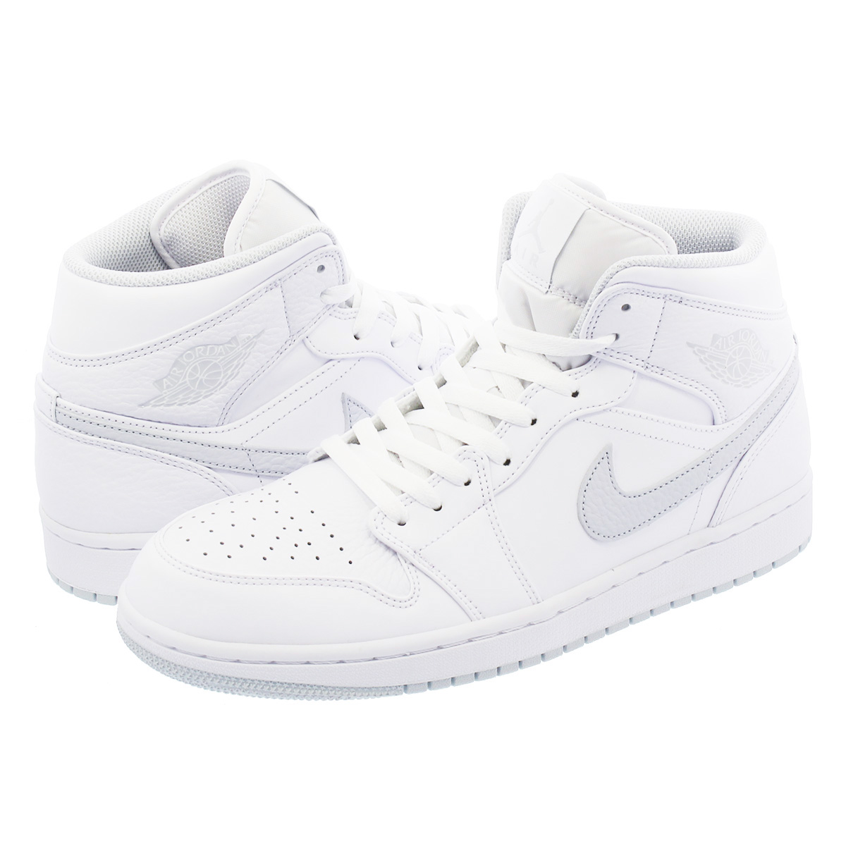 SELECT SHOP LOWTEX |  Global Market: NIKE AIR Air JORDAN 1 MID Nike Air AIR Jordan 1 mid WHITE/PURE PLATINUM/WHITE f17fde
