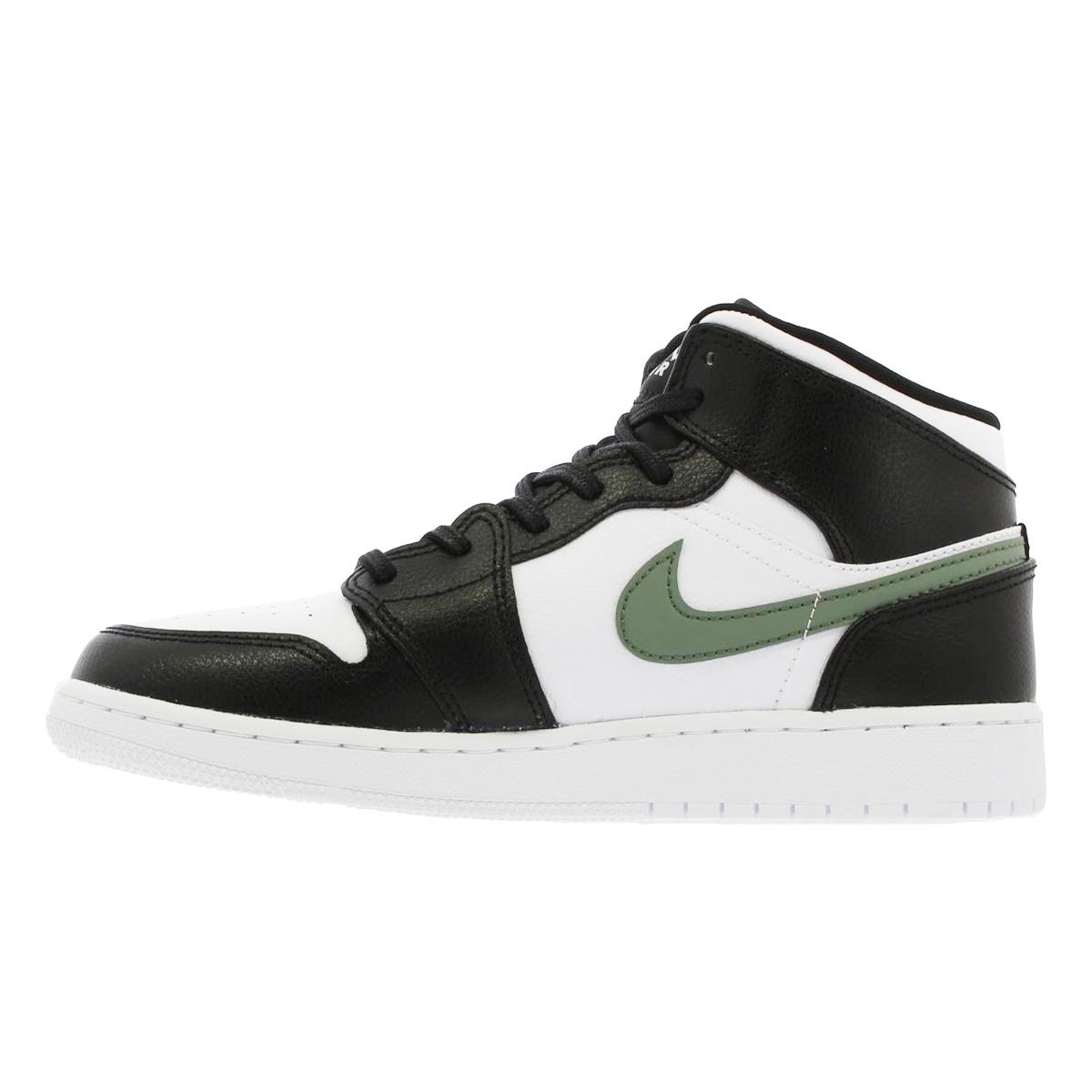save off 79779 19a1f ... NIKE AIR JORDAN 1 MID BG Nike Air Jordan 1 mid BG BLACK/WHITE/ ...