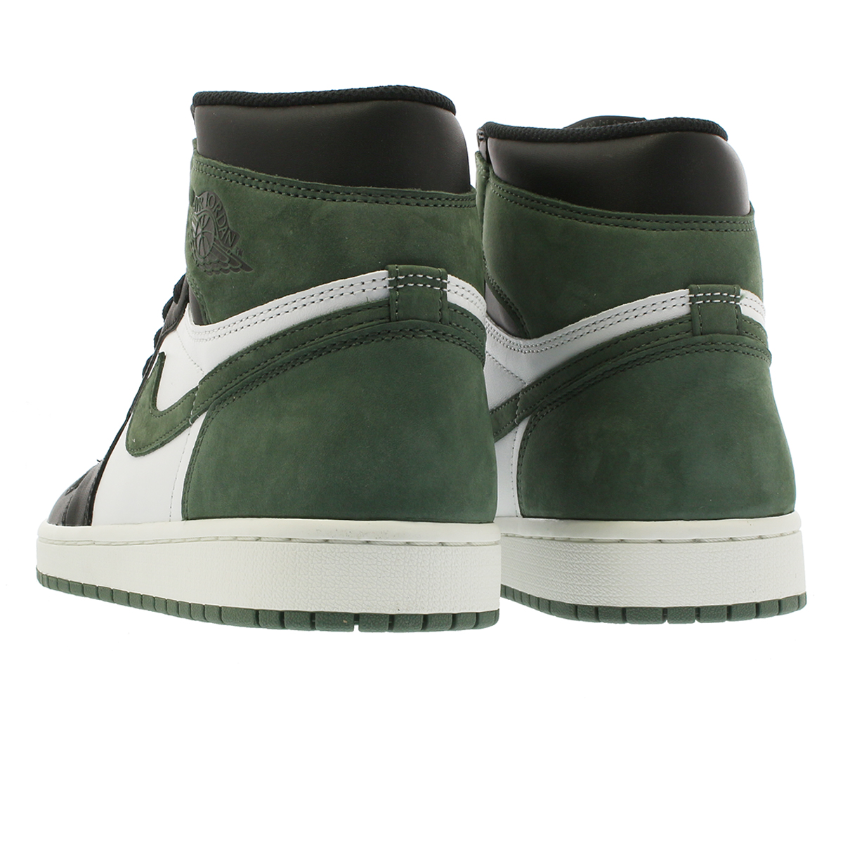 NIKE AIR JORDAN 1 RETRO HIGH OG Nike Air Jordan 1 nostalgic high OG WHITE  BLACK CLAY GREEN 934161c9c