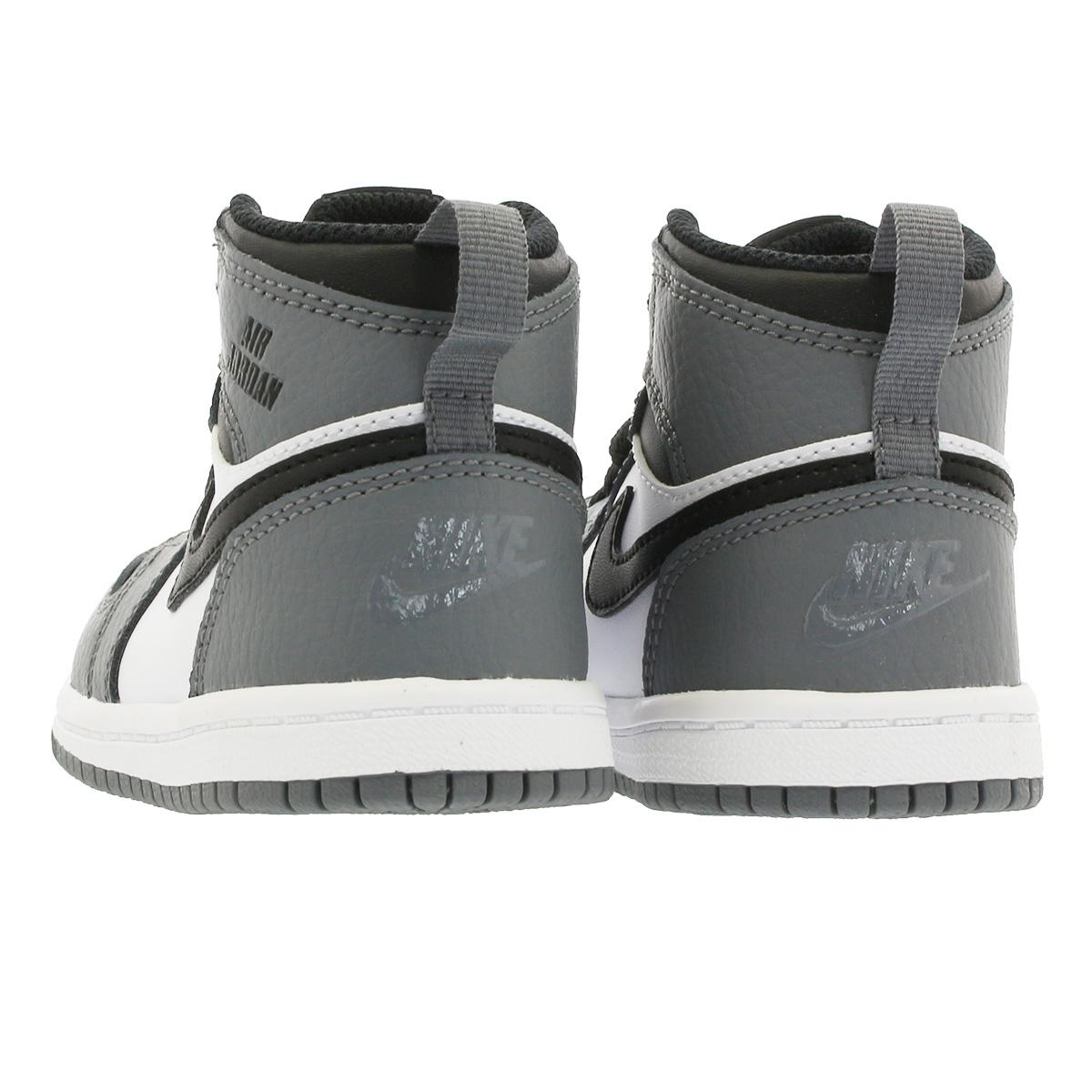 19a95253984ddf 1 NIKE AIR JORDAN RETRO 1 HI BT Nike Air Jordan nostalgic high BT COOL  GREY WHITE BLACK