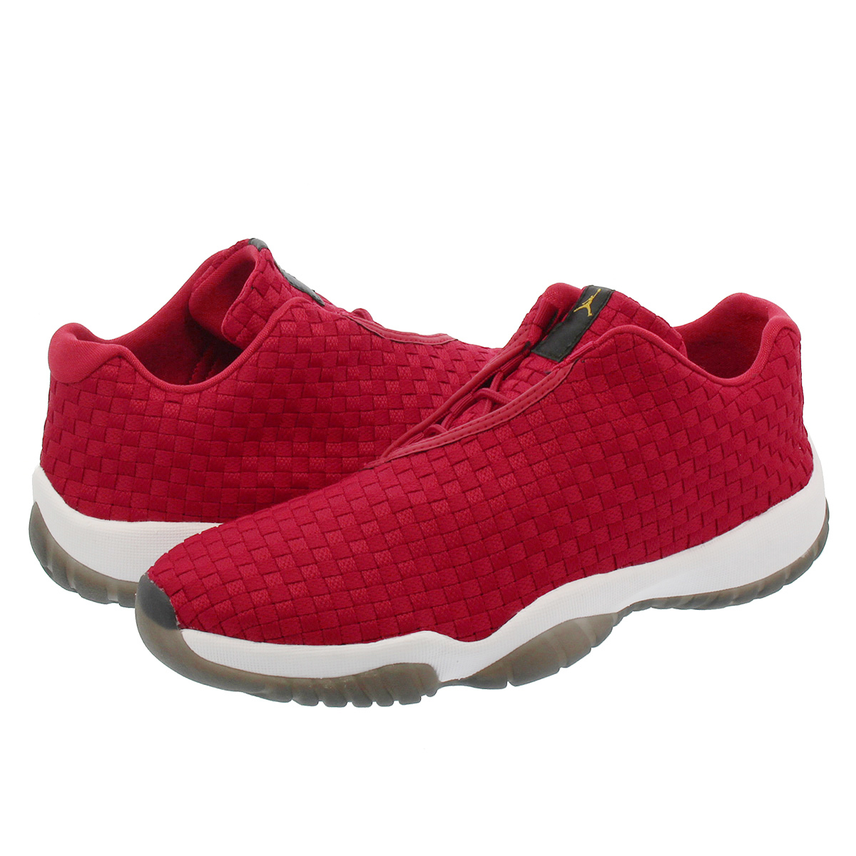 NIKE AIR JORDAN FUTURE LOW Nike Air Jordan future low GYM RED WHITE BLACK  718 bb3ab640fe