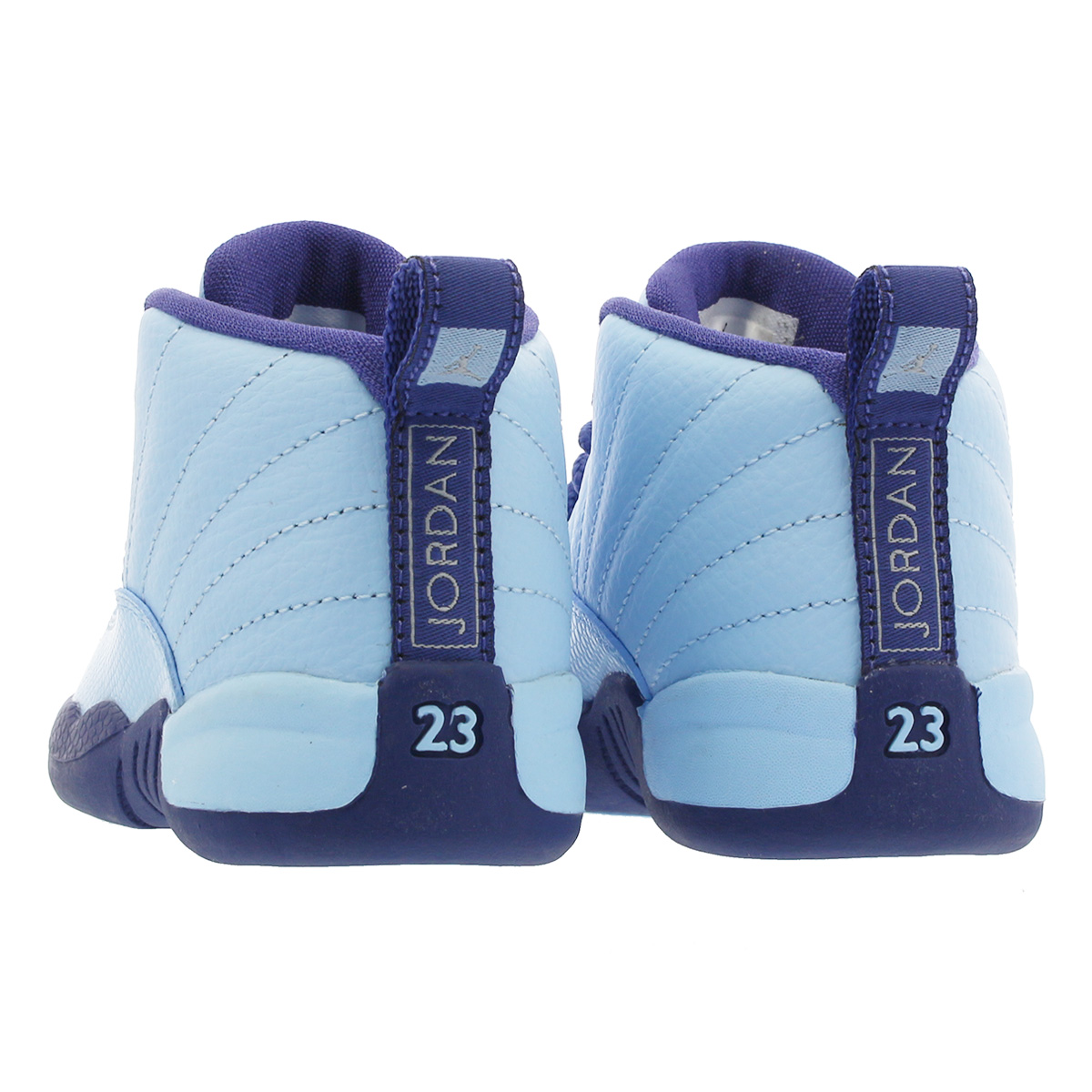 0092698b671e NIKE AIR JORDAN 12 RETRO TD Nike Air Jordan 12 nostalgic TD LIGHT BLUE NAVY  BLUE