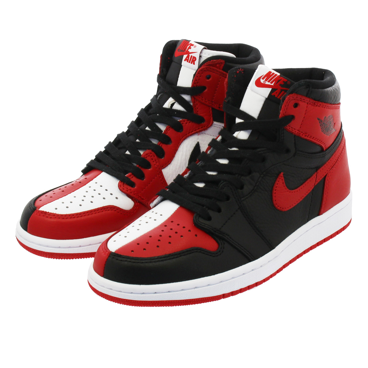 NIKE AIR JORDAN 1 RETRO HIGH OG 【HOMAGE TO HOME】 ナイキ エア ジョーダン 1 レトロ ハイ OG BLACK/WHITE/UNIVERSITY RED 861428-061