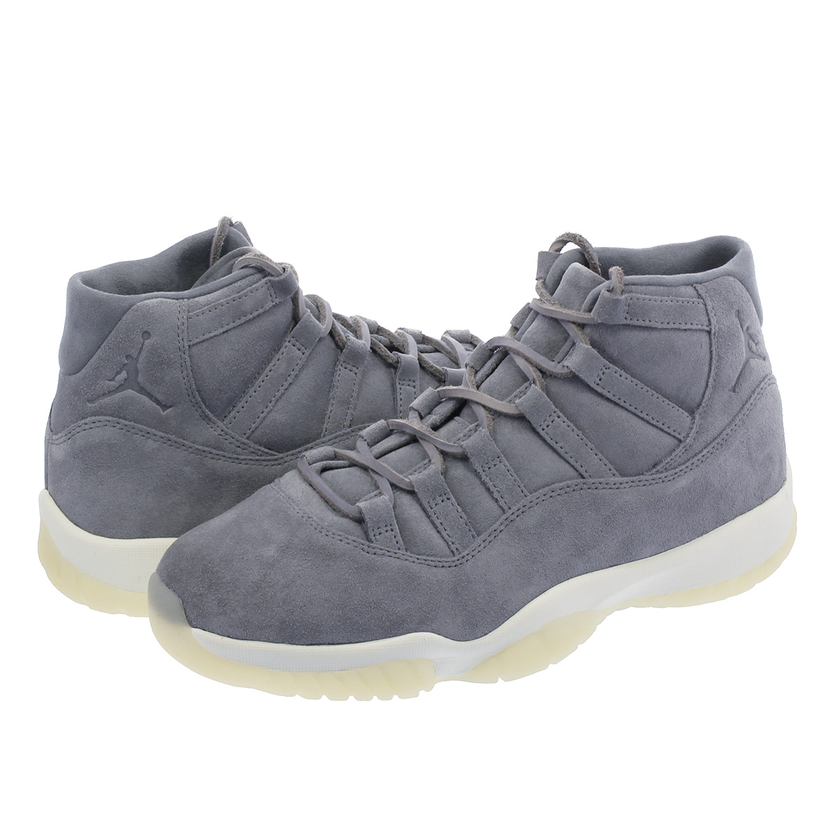 reputable site 3b63d 9ce36 NIKE AIR JORDAN 11 RETRO PRM Nike Air Jordan 11 nostalgic premium COOL  GREY/SAIL 914,433-003