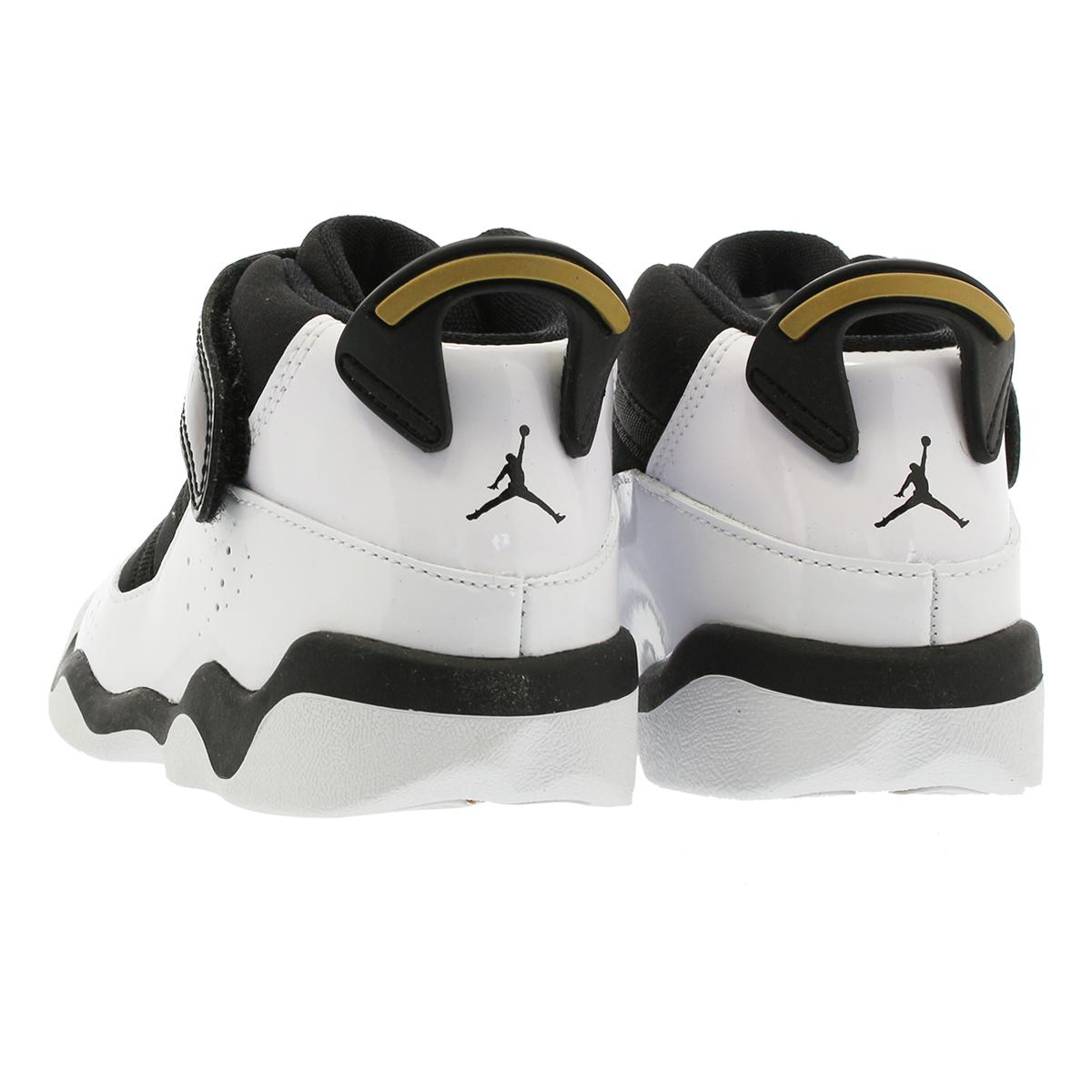 newest 09757 a7b42 NIKE AIR JORDAN 6 RINGS GT Nike Air Jordan 6 RINGS Co.,Ltd. GT WHITEBLACKMETALLIC  GOLD