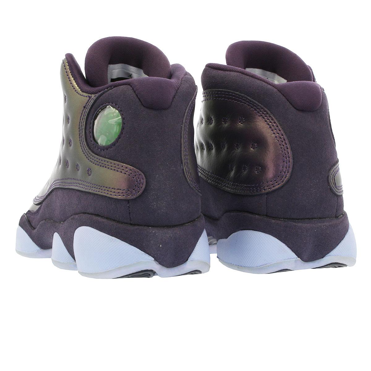 996a86d8 ... NIKE AIR JORDAN 13 RETRO Nike Air Jordan 13 nostalgic GG DARK RAISIN/HYDROGEN  BLUE ...