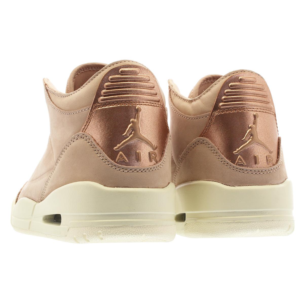 06d289f2f7a ... NIKE WMNS AIR JORDAN 3 RETRO SE Nike women Air Jordan 3 nostalgic PARTICLE  BEIGE/ ...