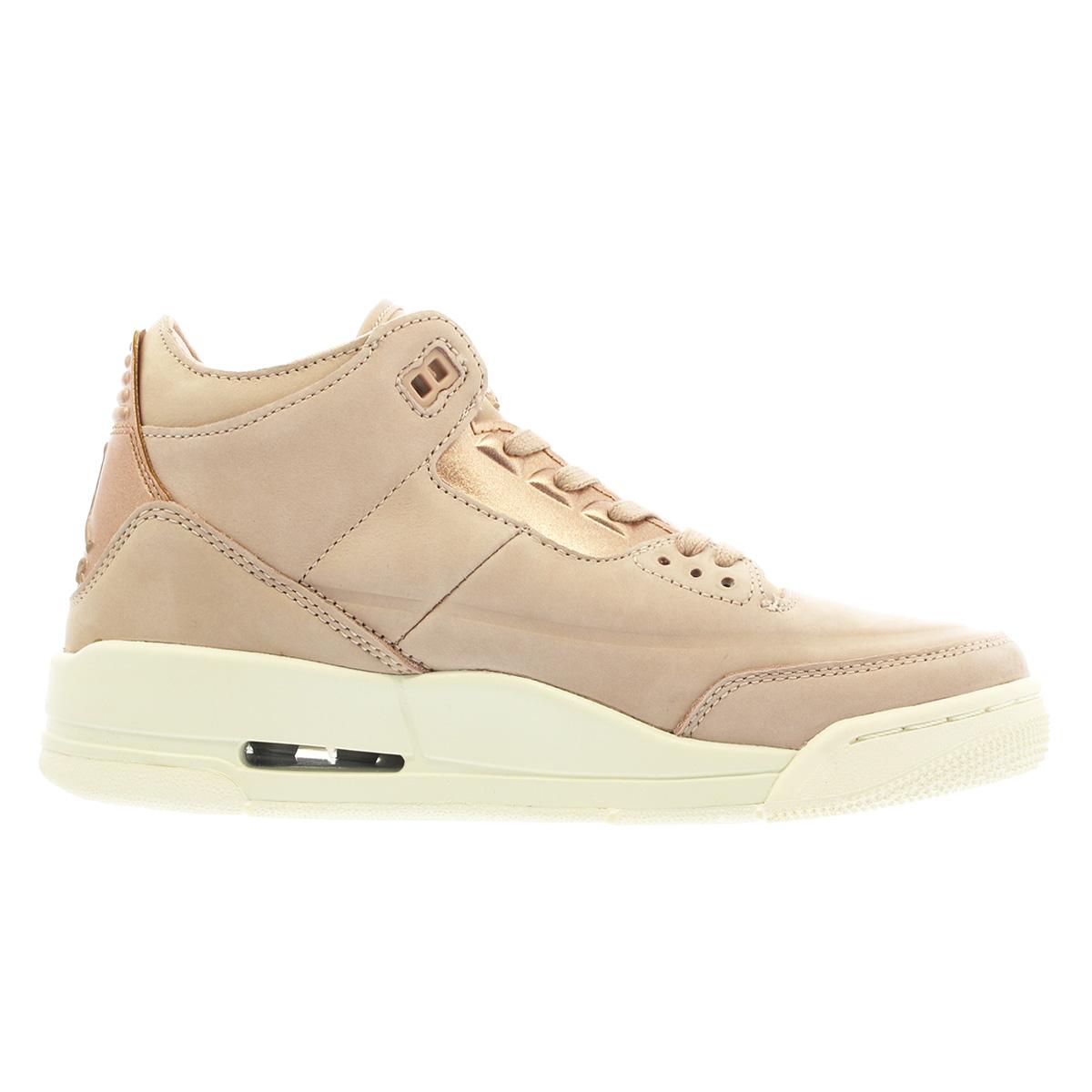 956feb557b79 NIKE WMNS AIR JORDAN 3 RETRO SE Nike women Air Jordan 3 nostalgic PARTICLE  BEIGE METALLIC RED BRONZE SAIL ah7859-205