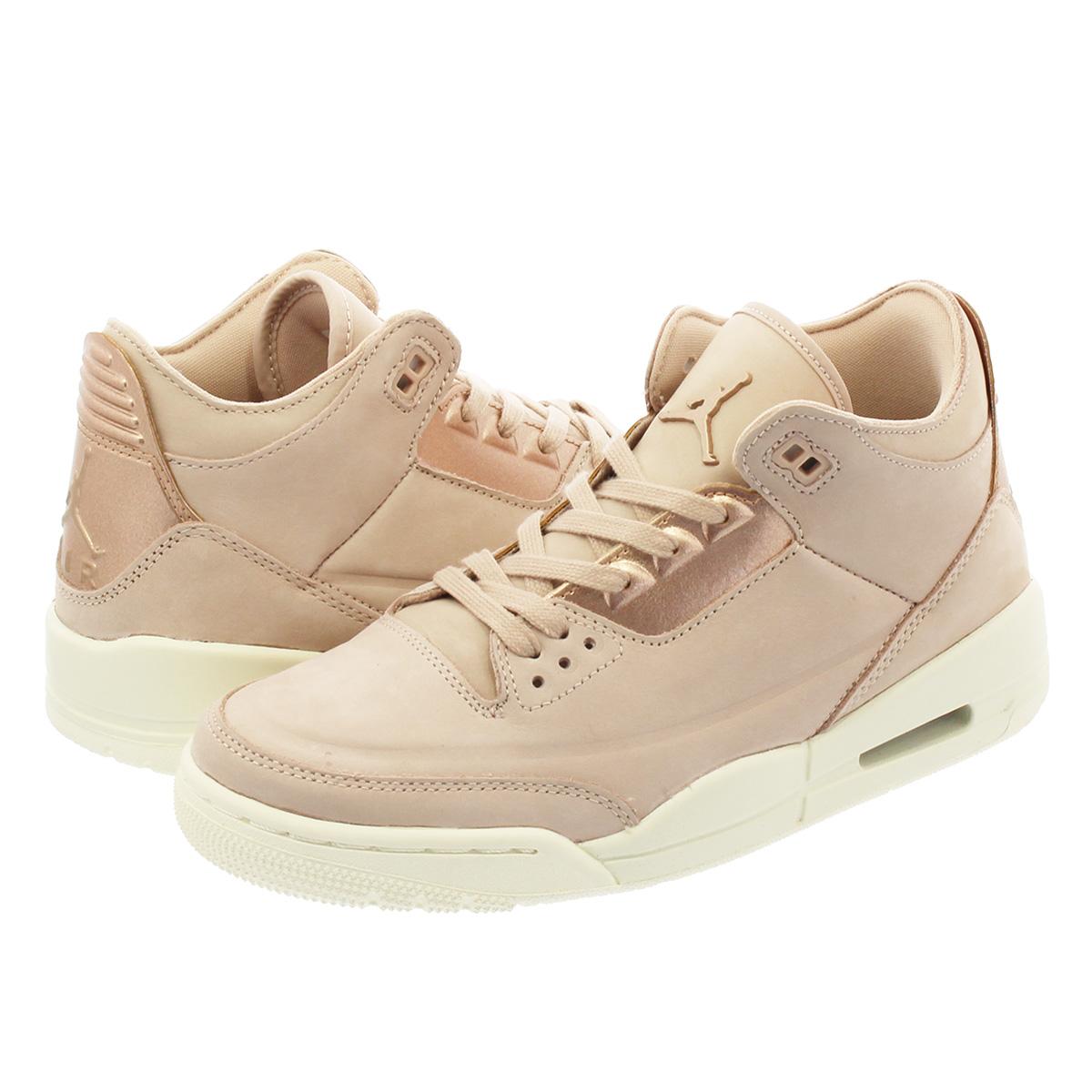 2c30789b6dc SELECT SHOP LOWTEX  NIKE WMNS AIR JORDAN 3 RETRO SE Nike women Air Jordan 3  nostalgic PARTICLE BEIGE METALLIC RED BRONZE SAIL ah7859-205