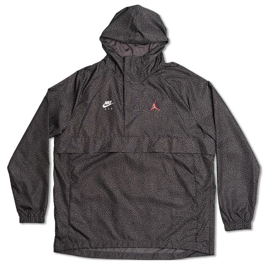 19884e10994 1988 NIKE JORDAN SPORTSWEAR WINGS 1988 ANORAK JACKET Nike Jordan sportswear  wings anorak jacket DARK GREY ...