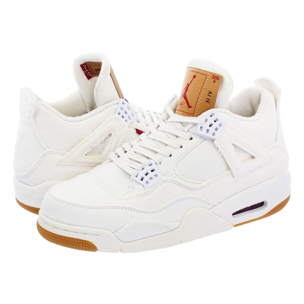 watch 3a6f3 33771 NIKE AIR JORDAN 4 RETRO NRG Nike air Jordan 4 nostalgic NRG Levis  WHITE/WHITE ao2571-100