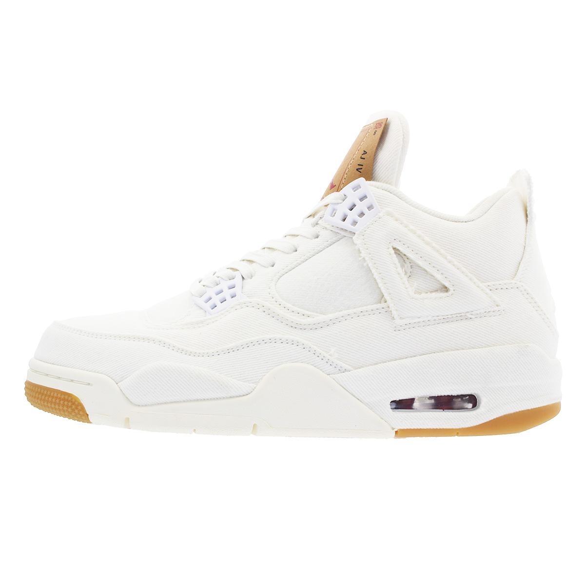 1390c3c62451c8 NIKE AIR JORDAN 4 RETRO NRG Nike air Jordan 4 nostalgic NRG Levis WHITE WHITE  ao2571-100