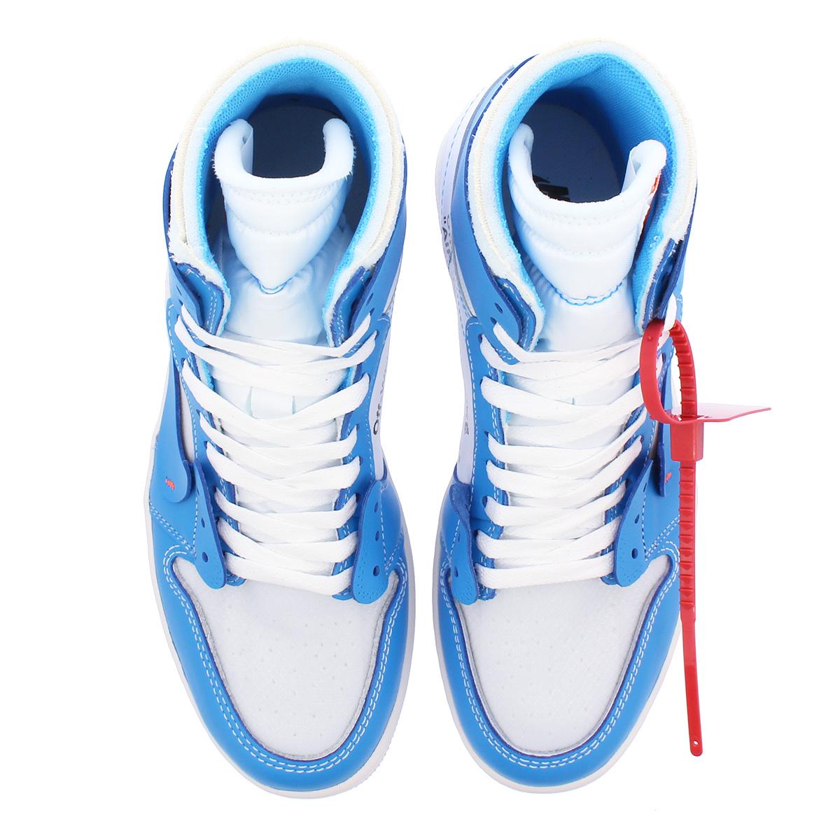 check out b2405 45d0d NIKE AIR JORDAN 1 RETRO HIGH NRG Nike Air Jordan 1 nostalgic high NRG  WHITE CONE DARK POWDER BLUE aq0818-148