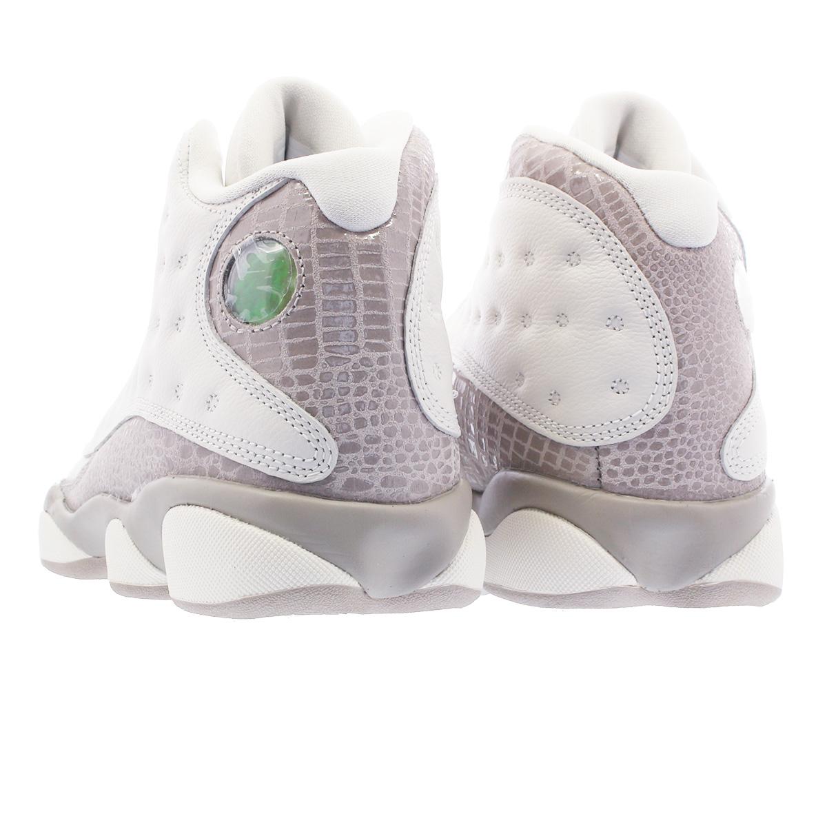 separation shoes a2521 f5e15 NIKE WMNS AIR JORDAN 13 RETRO Nike women Air Jordan 13 nostalgic  PHANTOM/MOON PARTICLE aq1757-004