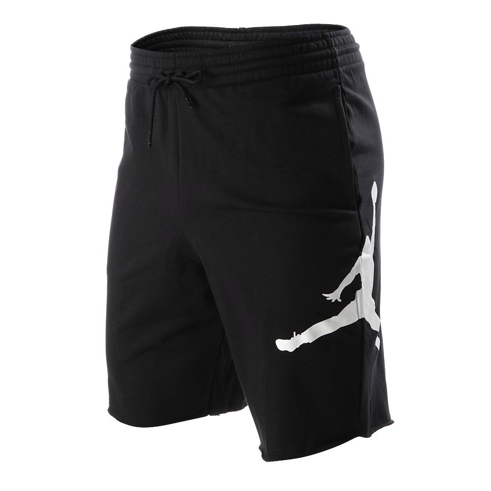 34db4a0db2d NIKE JORDAN SPORTSWEAR JUMPMAN AIR FLEECE SHORTS Nike Jordan sportswear  jump man air fleece shorts BLACK ...