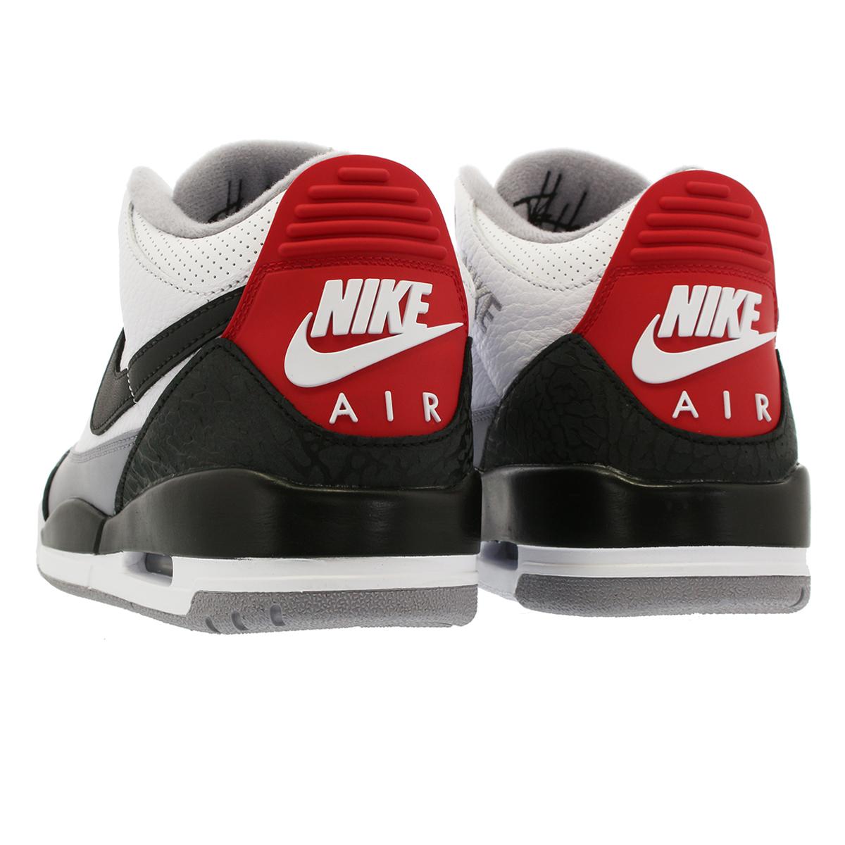 19ba848c8b0cbe NIKE AIR JORDAN 3 RETRO TINKER NRG Nike Air Jordan 3 レトロティンカー NRG WHITE FIRE  RED CEMENT GREY BLACK