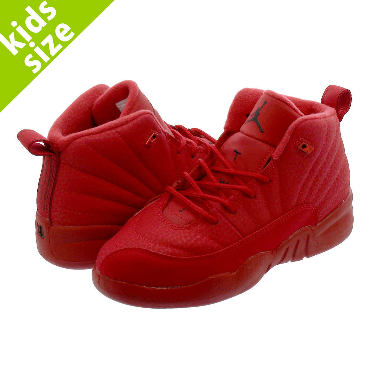 new arrival 6624e 392d2 NIKE AIR JORDAN 12 RETRO PS Nike Air Jordan 12 nostalgic PS GYM  RED/BLACK/BLACK 151,186-601