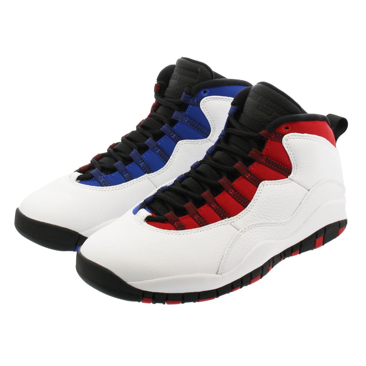 4ba6f9cc49 NIKE AIR JORDAN 10 RETRO Nike Air Jordan 10 nostalgic  WHITE/BLACK/UNIVERSITY RED/HYPER ROYAL 310,805-160