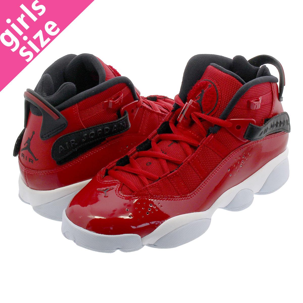 best sneakers 86c62 d12e3 NIKE JORDAN 6 RINGS BG Nike Jordan 6 RINGS Co.,Ltd. BG GYM RED/BLACK/WHITE  323,419-601