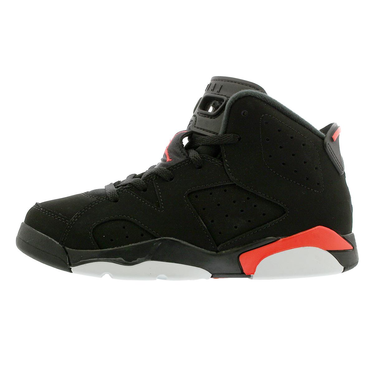 64e59d0c2ce ... NIKE AIR JORDAN 6 RETRO BP Nike Air Jordan 6 nostalgic BP BLACK/INFRARED  384,666 ...