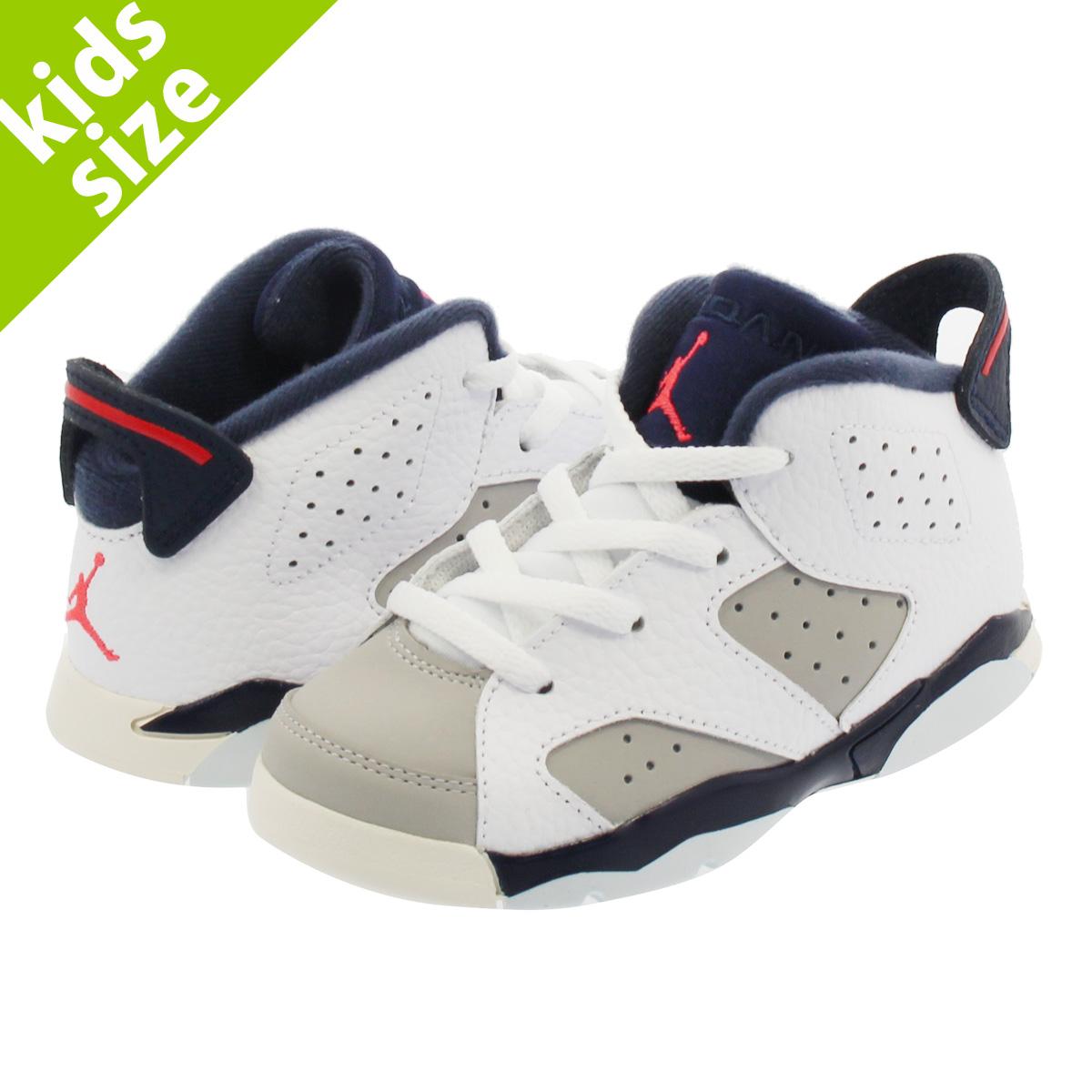 new concept fdd99 dbe62 NIKE AIR JORDAN 6 RETRO BT Nike Air Jordan 6 nostalgic BT WHITE INFRARED  23 NEUTRAL GREY OBSIDIAN 384,667-104