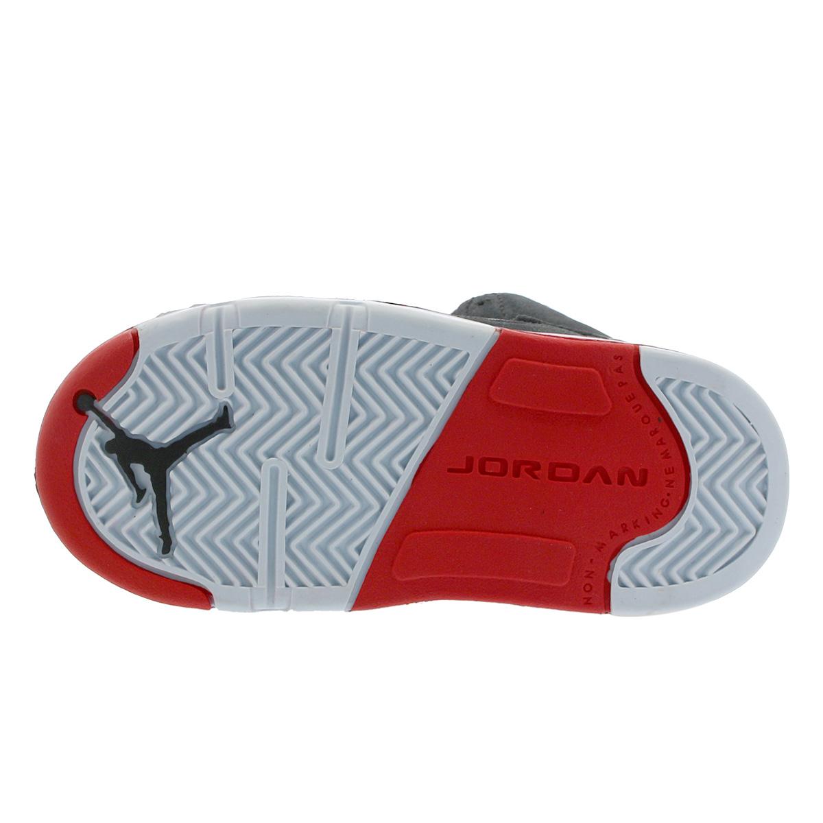 hot sale online f92fb 822f3 NIKE AIR JORDAN 5 RETRO BT Nike Air Jordan 5 nostalgic BT BLACK/UNIVERSITY  RED 440,890-006
