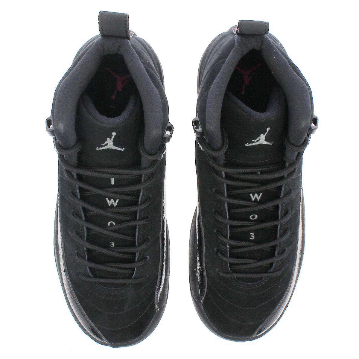7b2d999a5b05 NIKE AIR JORDAN 12 RETRO GG Nike Air Jordan 12 nostalgic GG BLACK DARK  GREY RUSH PINK 510