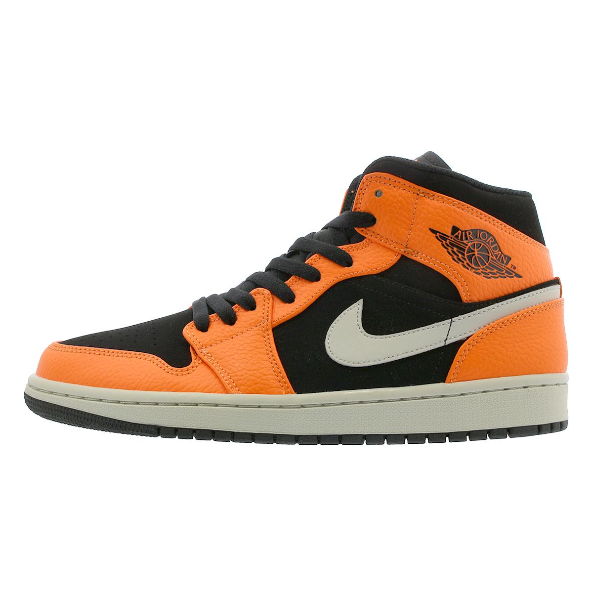5948c10b1a9 ... NIKE AIR JORDAN 1 MID Nike Air Jordan 1 mid BLACK/CONE/LIGHT BONE ...