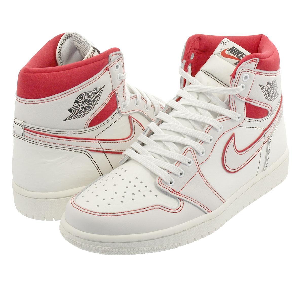 sneakers for cheap 8c3c4 0f97d NIKE AIR JORDAN 1 RETRO HIGH OG Nike Air Jordan 1 nostalgic high OG SAIL  BLACK PHANTOM UNIVERSITY RED 555,088-160