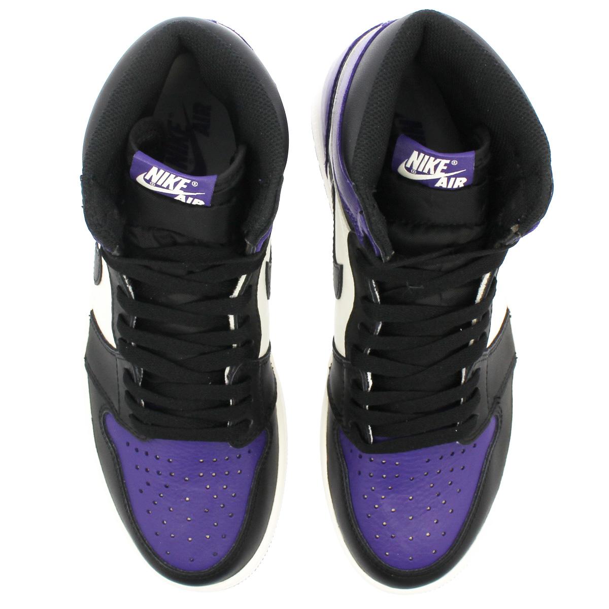 new product d3da4 8c977 NIKE AIR JORDAN 1 RETRO HIGH OG Nike Air Jordan 1 nostalgic high OG COURT  PURPLE BLACK SAIL 555,088-501