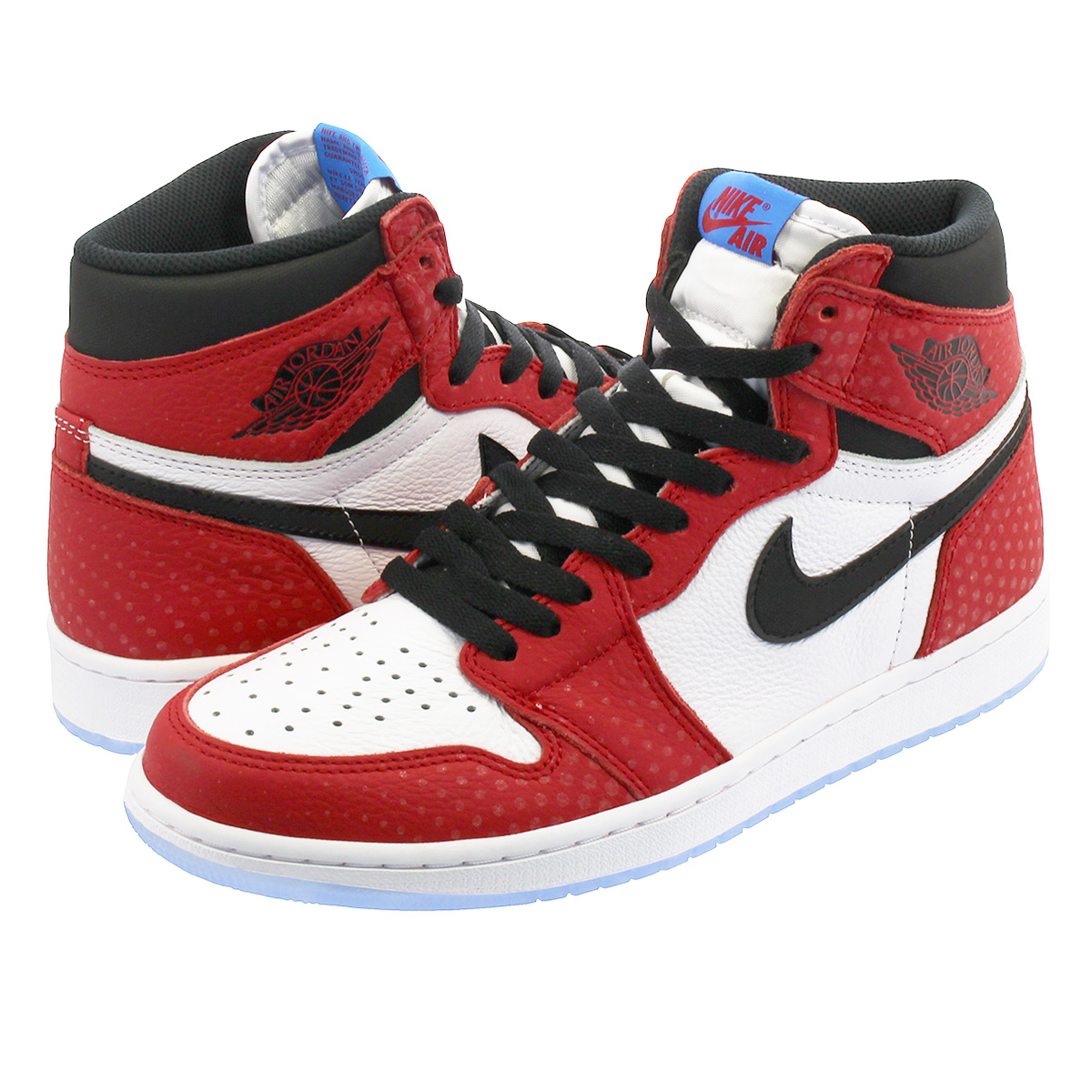 new style db861 a650c NIKE AIR JORDAN 1 RETRO HIGH OG Nike Air Jordan 1 nostalgic high OG GYM  RED/WHITE/PHOTO BLUE/BLACK 555,088-602