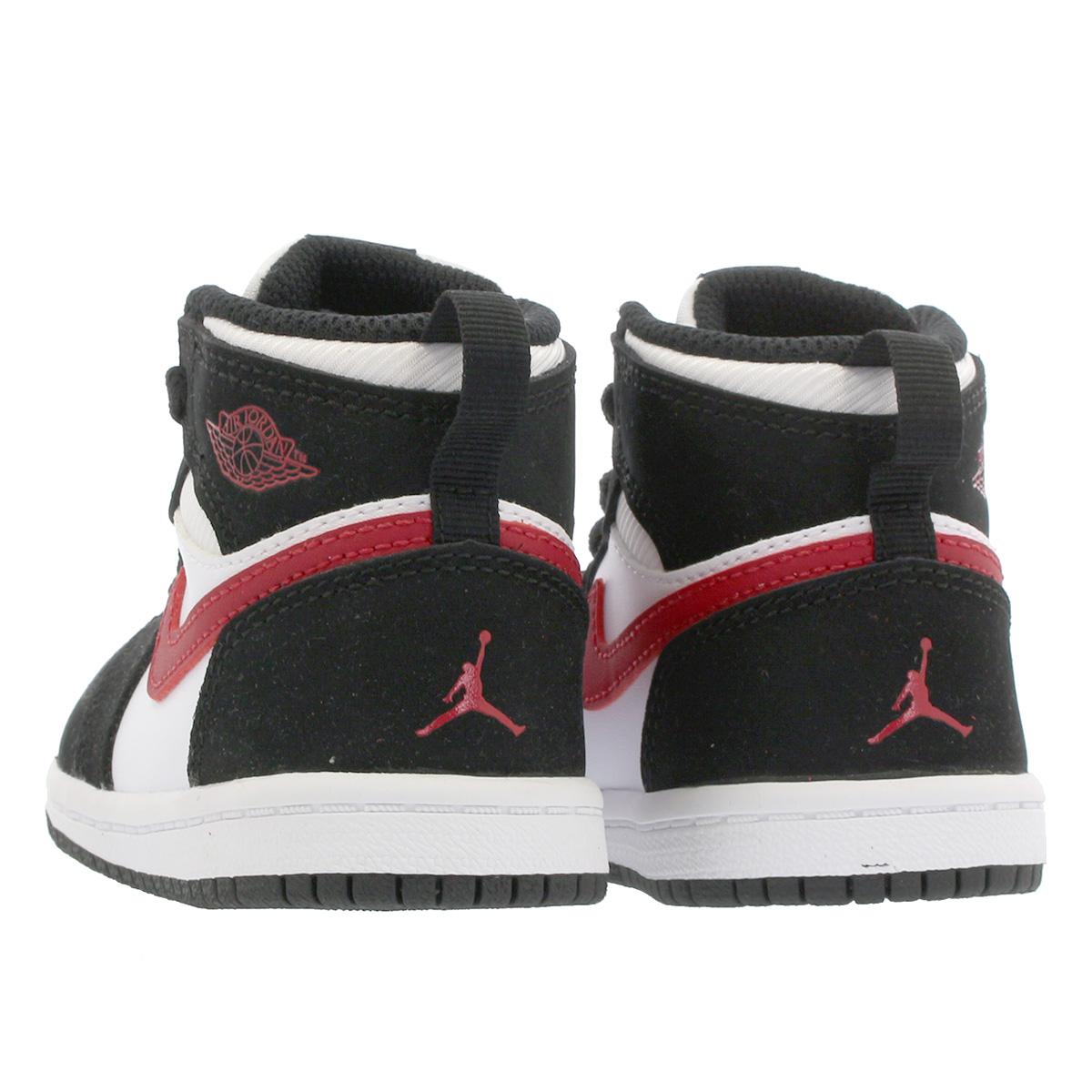 95ebe8ff4ce8dd 1 NIKE AIR JORDAN RETRO 1 HI BT Nike Air Jordan nostalgic high BT BLACK GYM  RED WHITE 705
