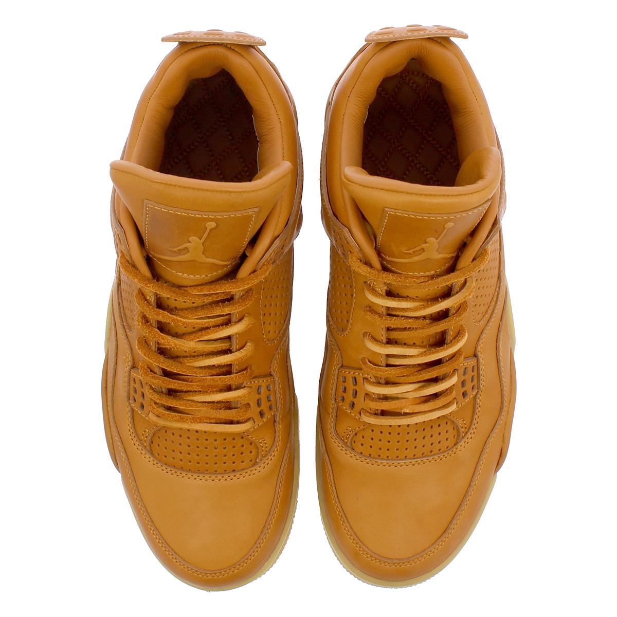 NIKE AIR JORDAN 4 PREMIUM Nike air Jordan 4 nostalgic premium GINGER GUM  YELLOW 819 50288b2fd